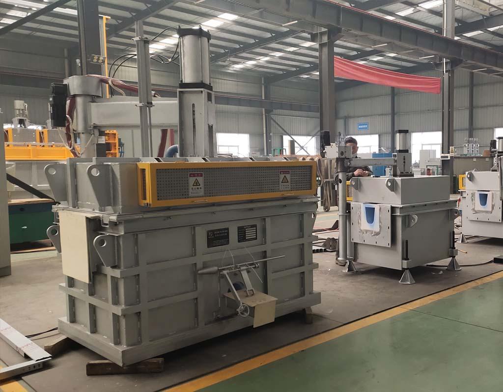 Aluminum Scrap Melting Ceramic Filter Box Machine