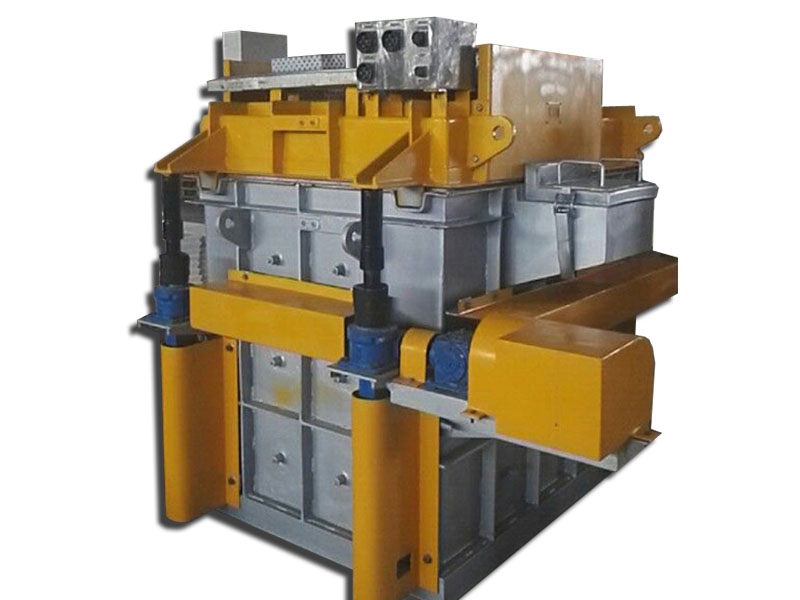 Aluminium Degassing Machine