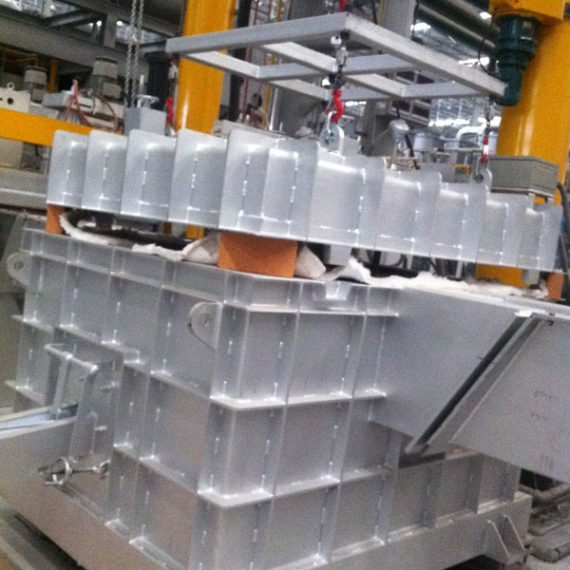 Molten Aluminium Ceramic Foam Filter Box