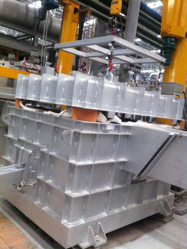 Molten Aluminium Ceramic Foam Filter Box