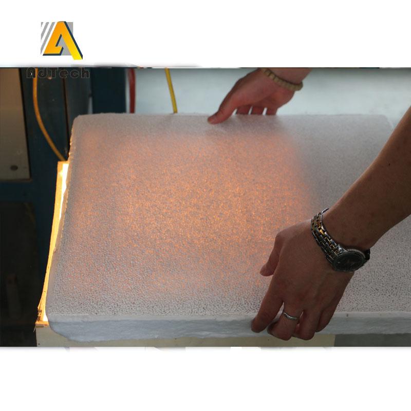 Ceramic foam filter apparatus