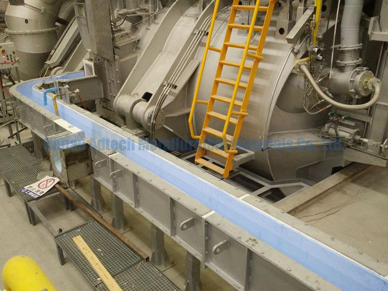 Foundry Molten Aluminum Refractory Launder Runner
