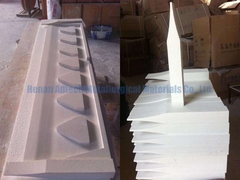 Effect of Ceramic Fiber Castertip on Roll Casting
