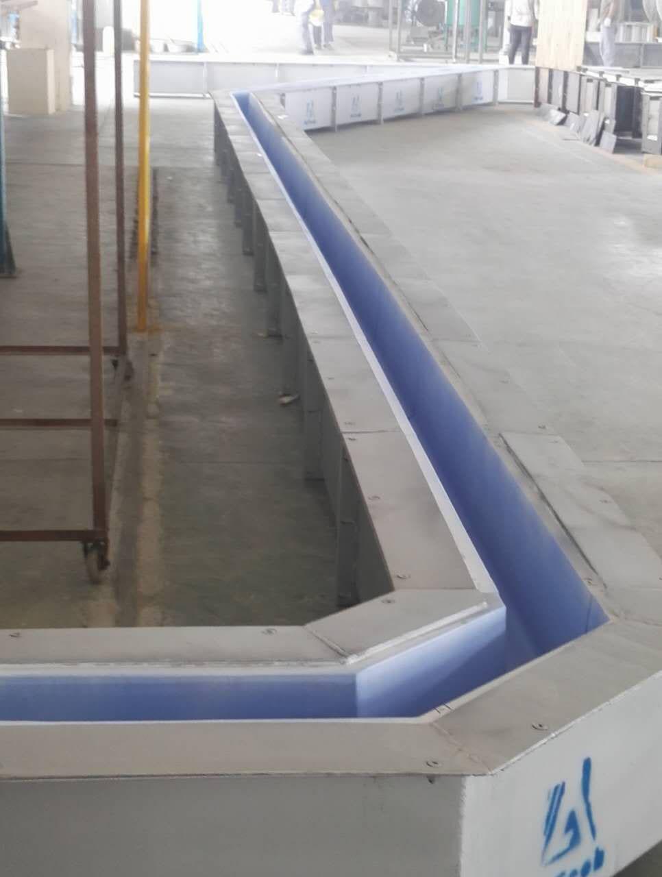 Aluminium Refractory Launder
