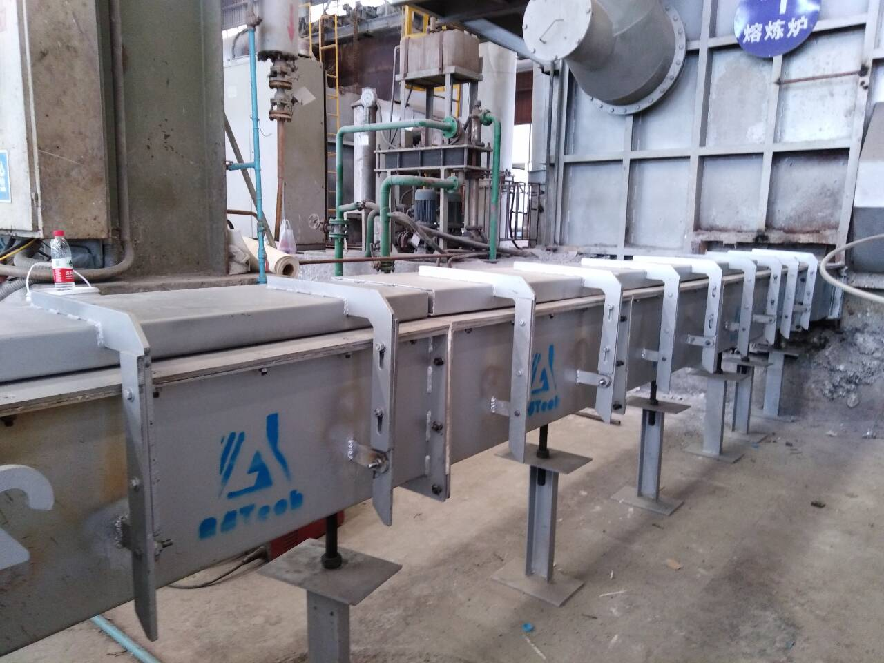 Launder System For Aluminium Casting