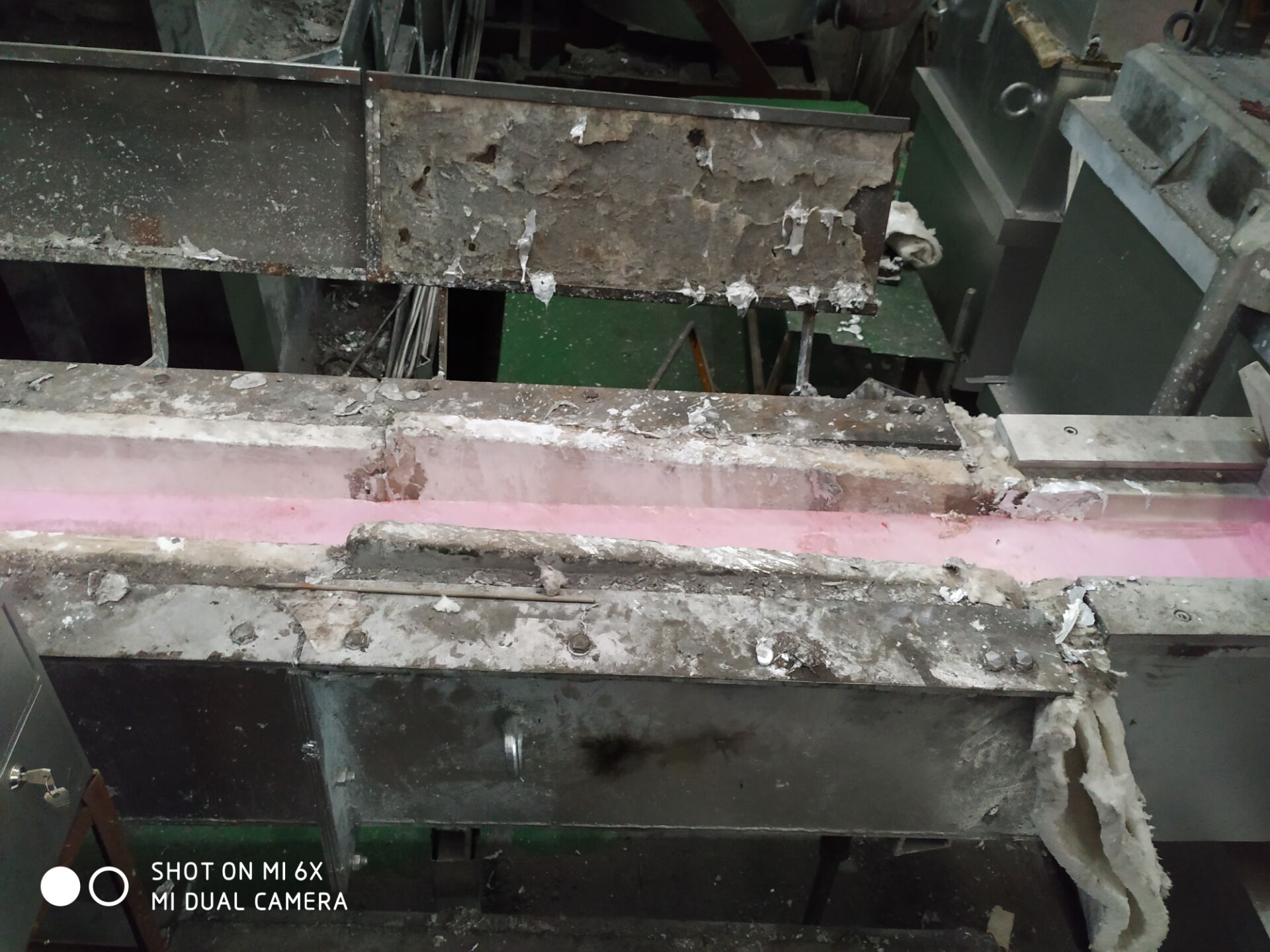 Aluminium Foundry Launder