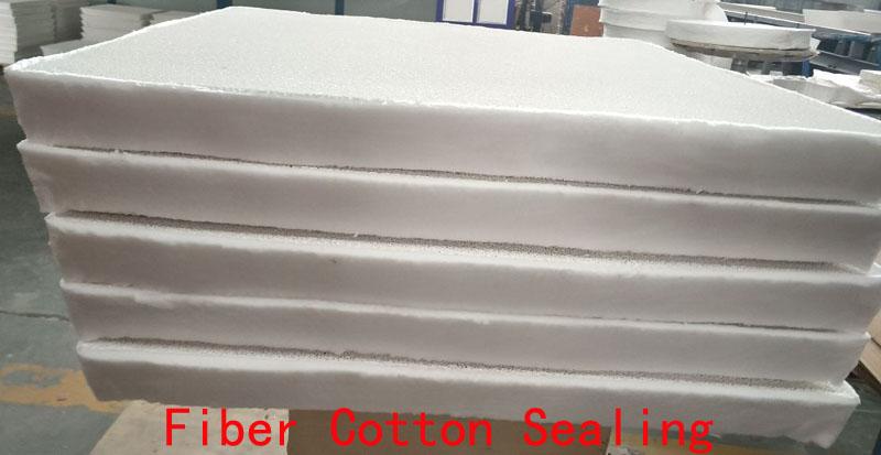 Ceramic Foam Filter With Fiber Blanket Sides (2)