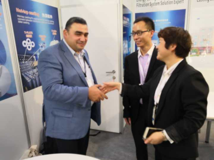 AdTech reached a strategic cooperation at the 2018 German Aluminum
