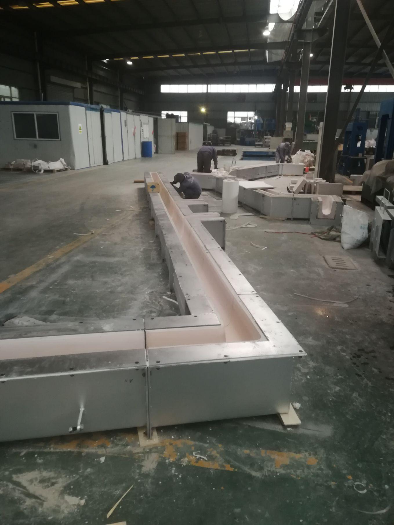 Aluminium Ceramic Launder