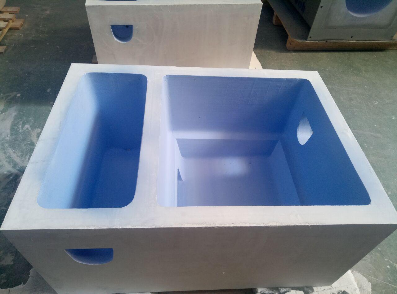 Aluminum casting filter