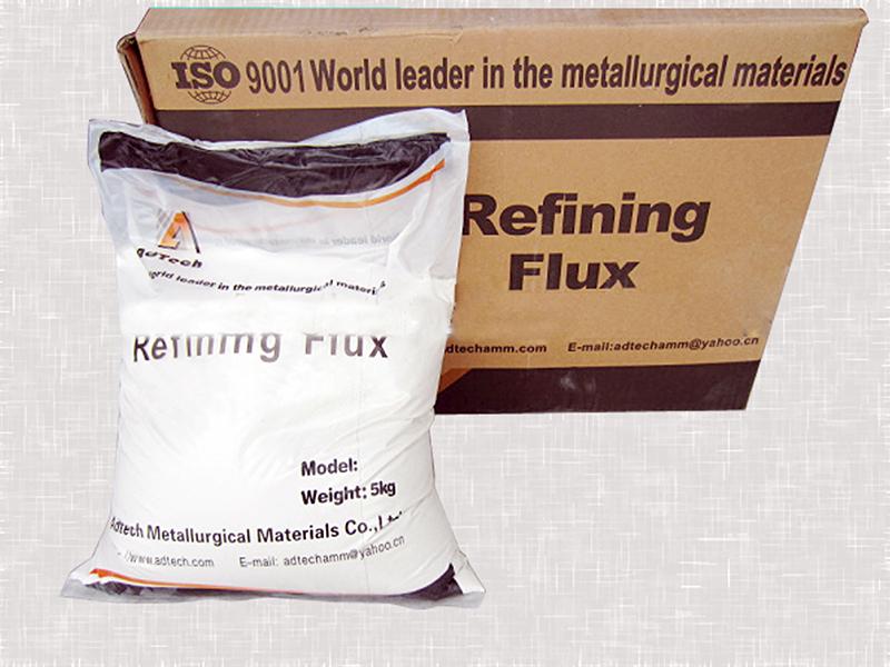 Aluminum liquid refining agent