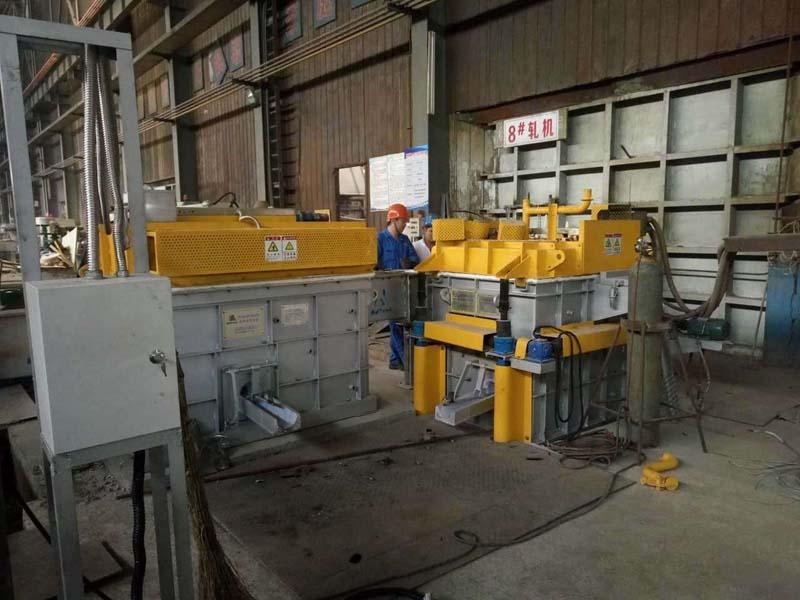 Degassing System For Aluminium