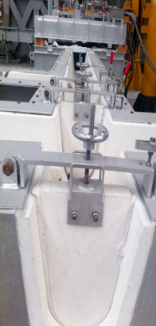 Aluminium Launder For Metal Transfer