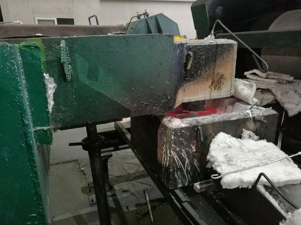 Molten Aluminium Flow Box