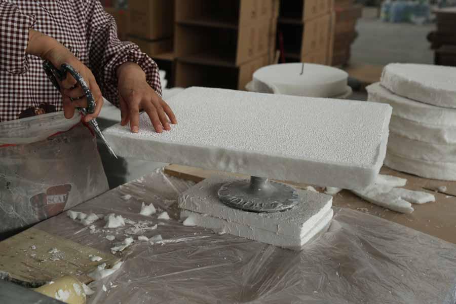 Alumina Ceramic Foam Filter Plate