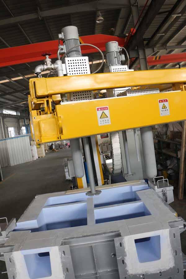 Aluminum Degassing System