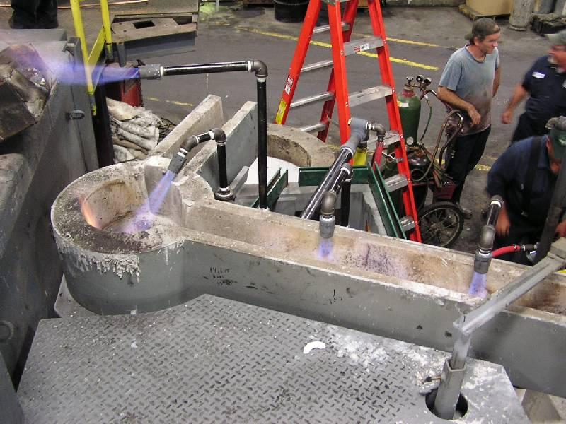 Aluminum Casting Launder