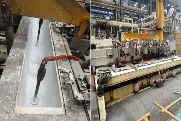 Molten Aluminum Launder