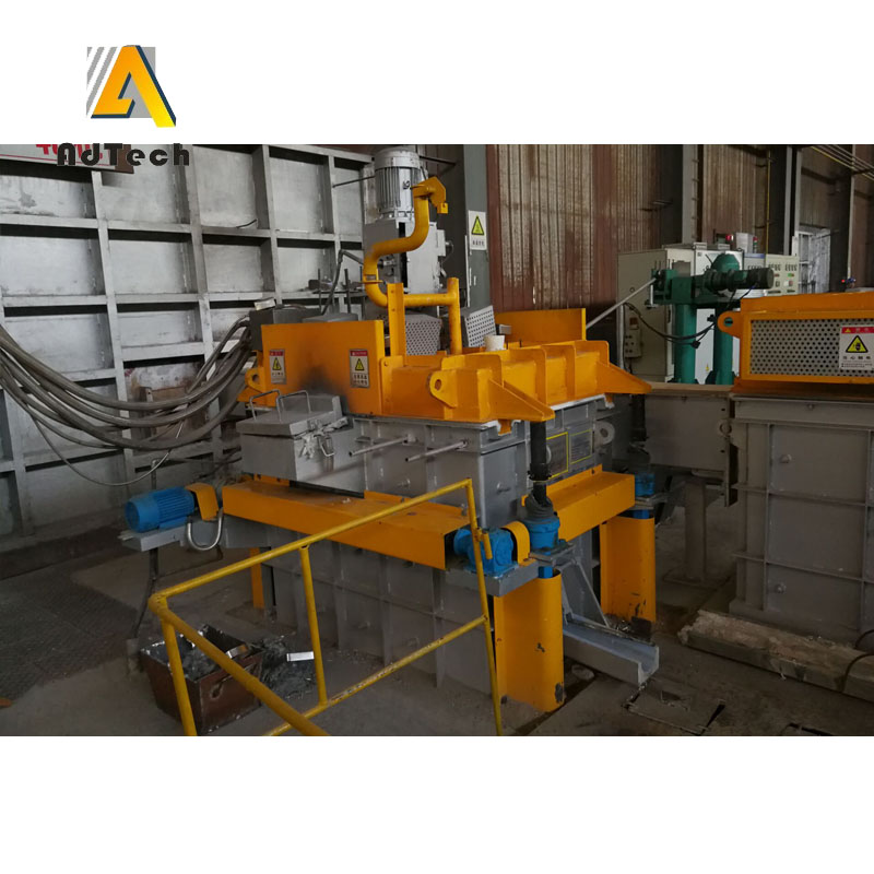 Aluminium Casting Line Metal Degassing Machine