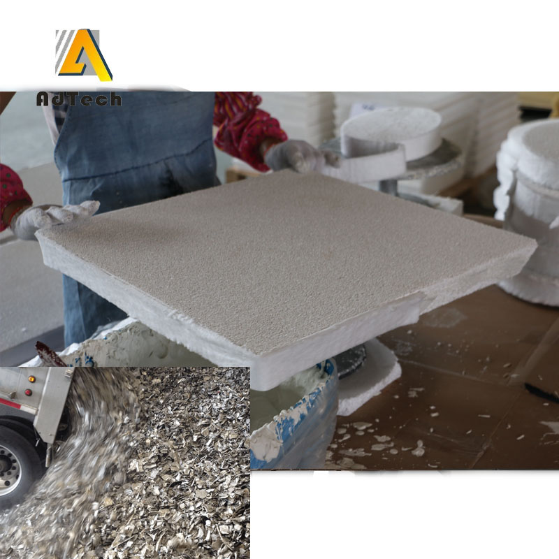 Aluminium Foundry Alumina Reticulated Foam Filter