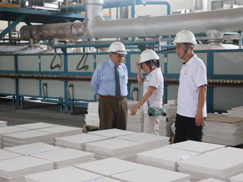 Aluminium Foundry Filter from China used in Rusal