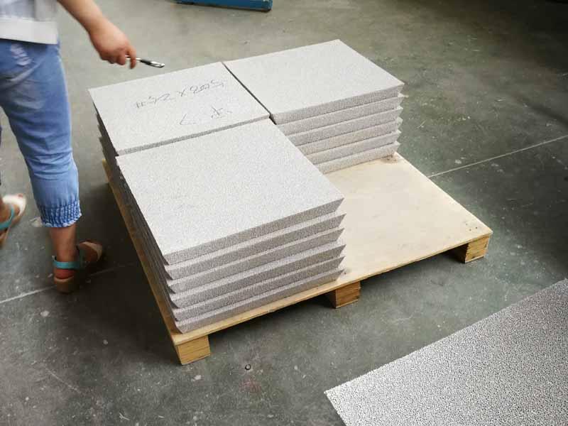 Porous Ceramic Filter Plate
