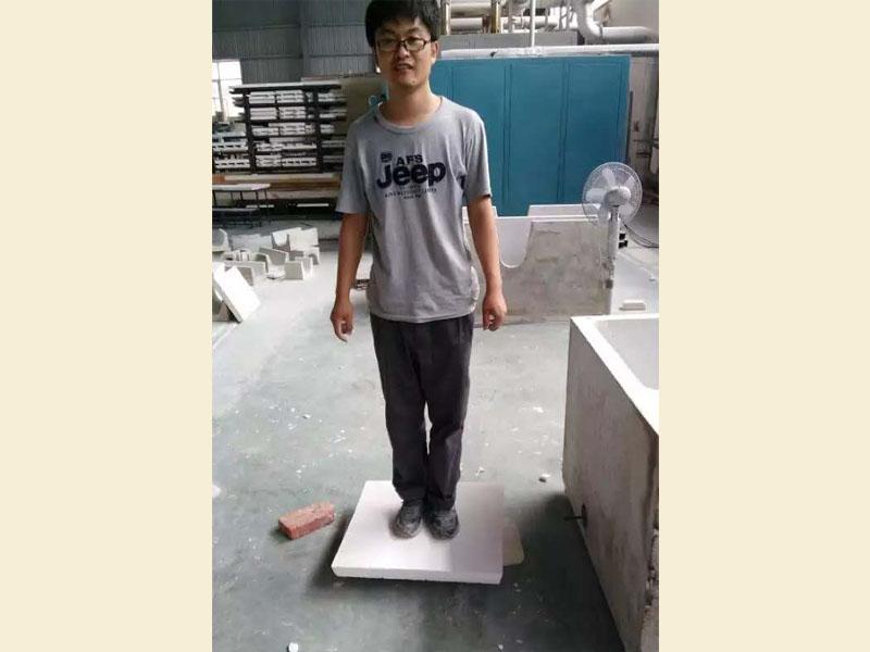 Zirconia Foam Filter compressive strength