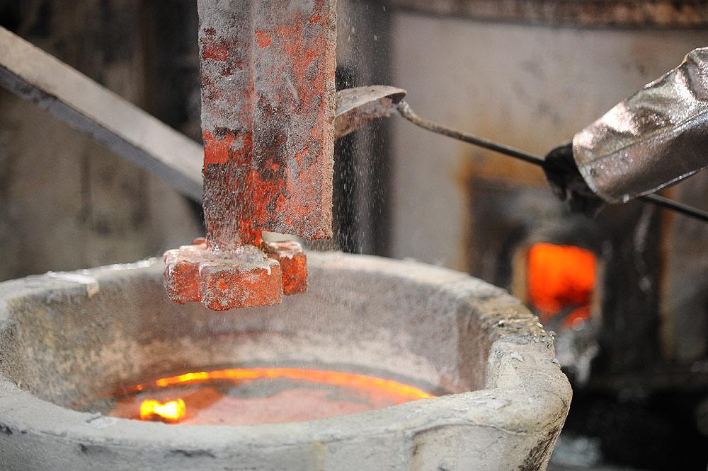 Aluminum Degassing Process
