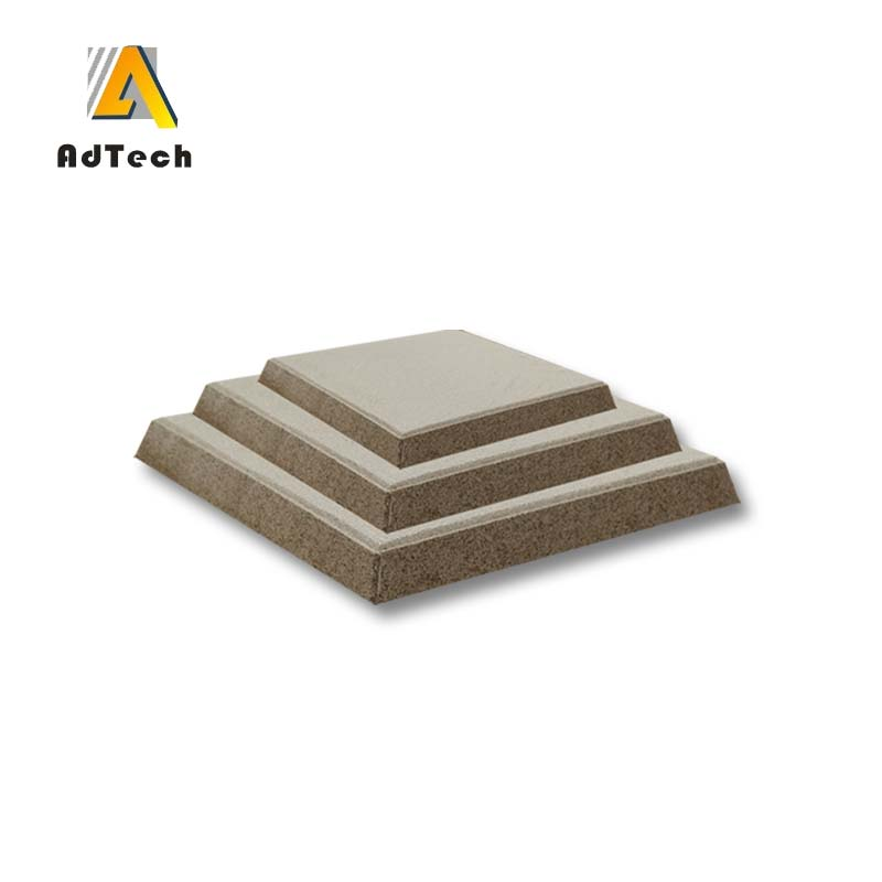 Ceramic foam filter molten metal filtration
