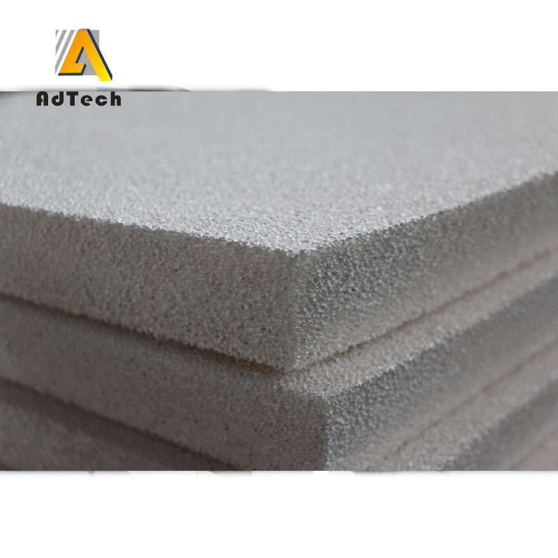 Al2O3 Reticulated Foam Filter