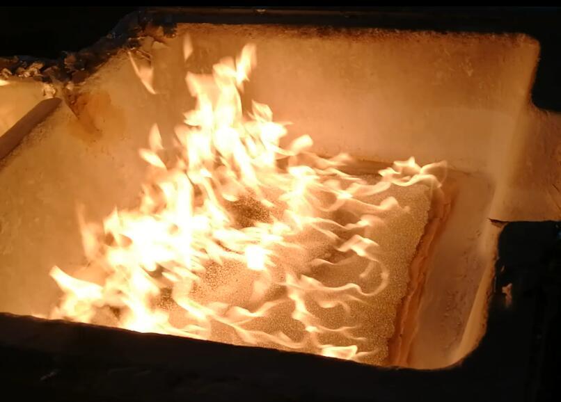 High Thermal Shock Resistance Zirconia Foam Ceramic Filter