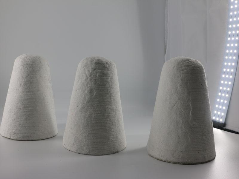 Cone To Control Aluminum Speed