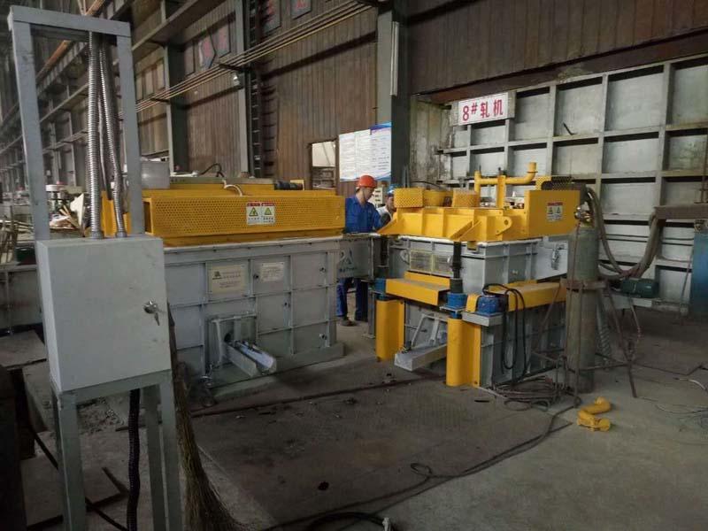 Degassing Aluinium Industry