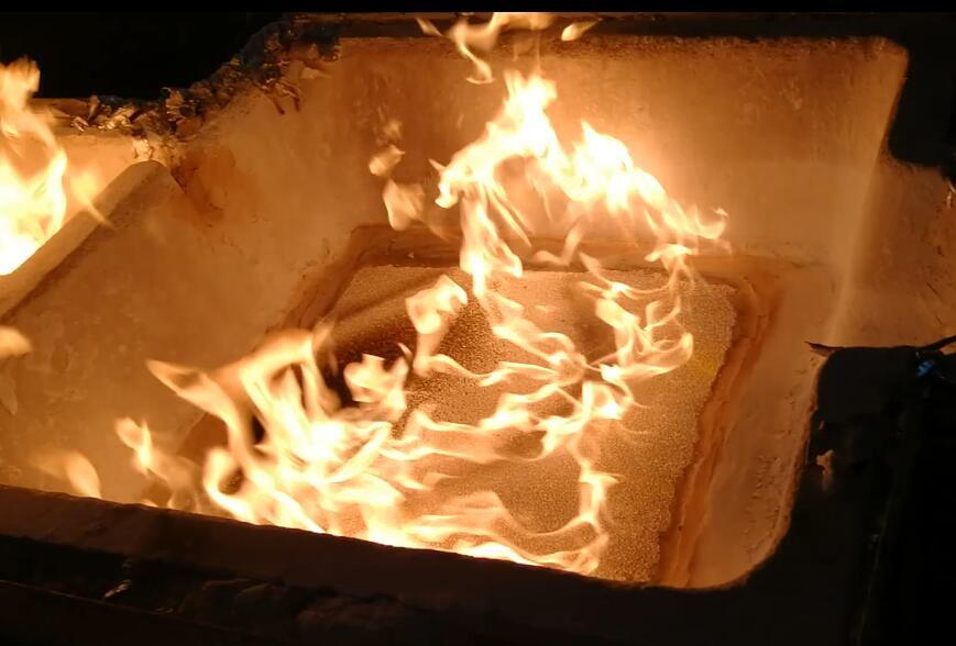 White Ceramic Foam Filter