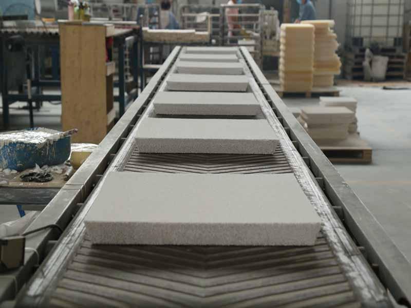 Tiwai Aluminium used the ceramic foam filter from Adtech