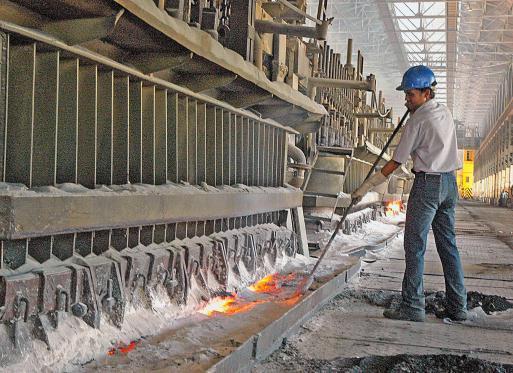 aluminum stirring method
