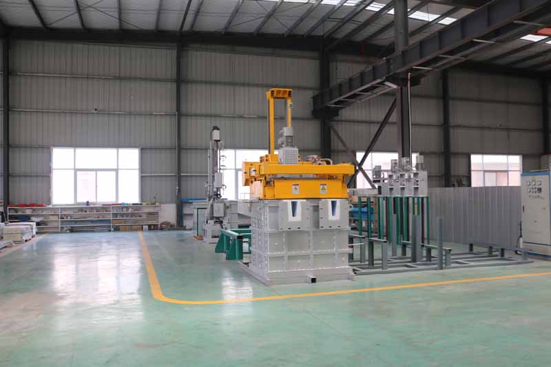 Aluminium Degassing Unit