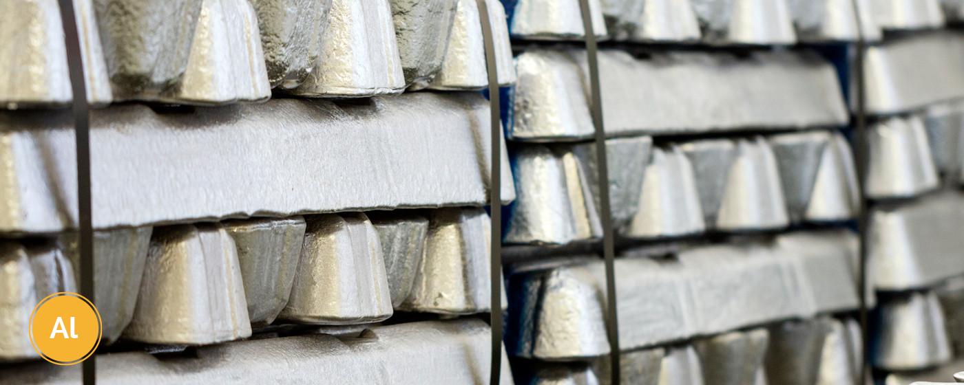 Aluminum die-cast metal