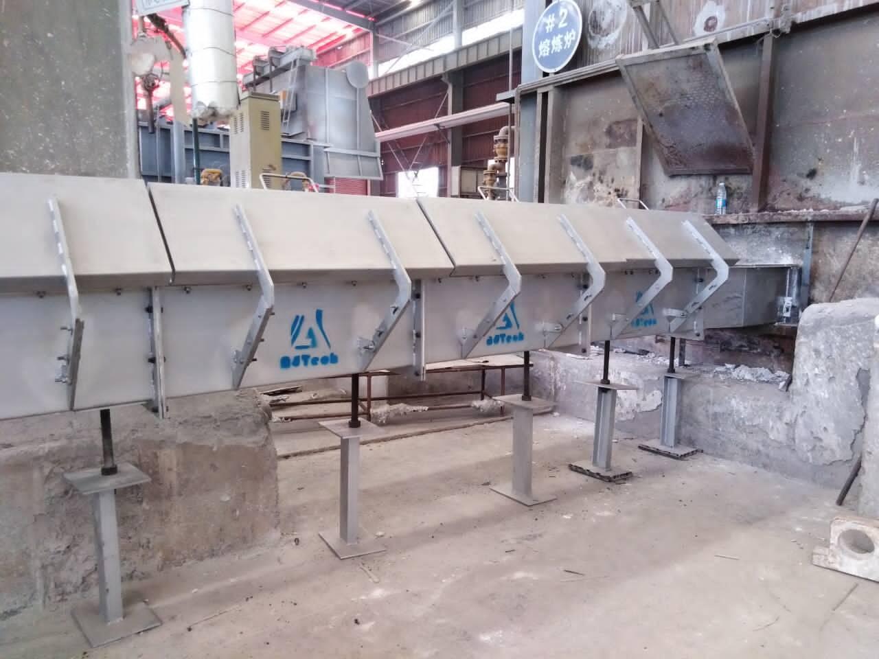 Molten Aluminium Insulated Launder