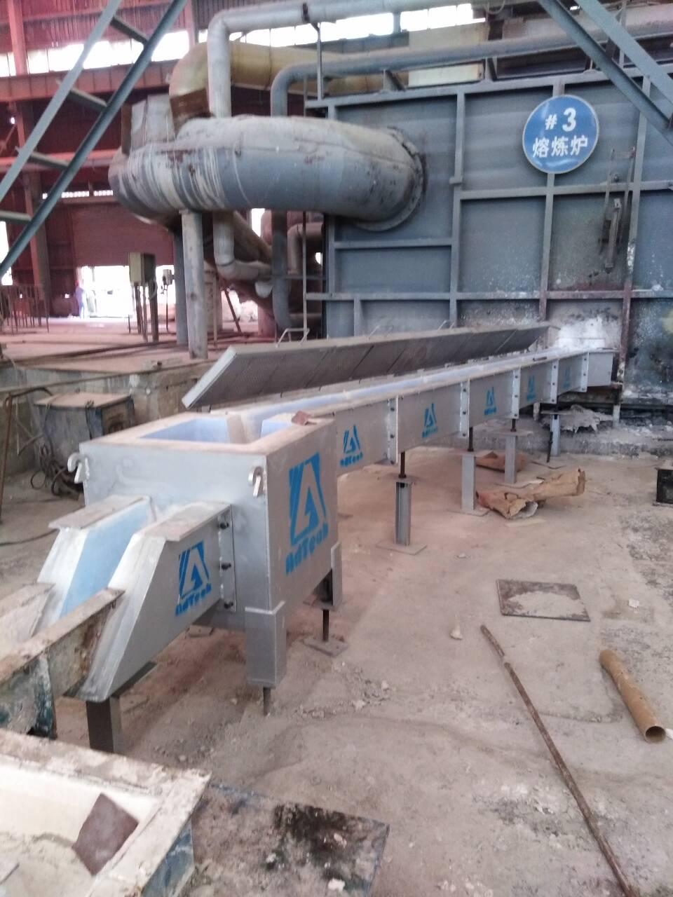 Molten Aluminium Launders System