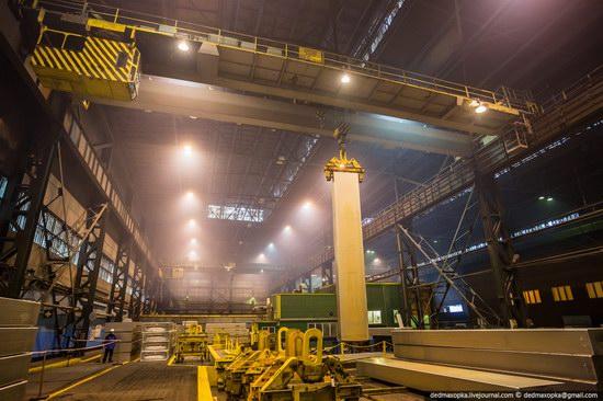 krasnoyarsk aluminum plant