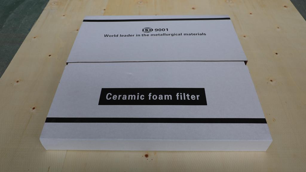 Ceramic Filtration for Casting