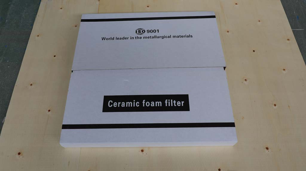 Ceramic Foam Filter Uses for Casting