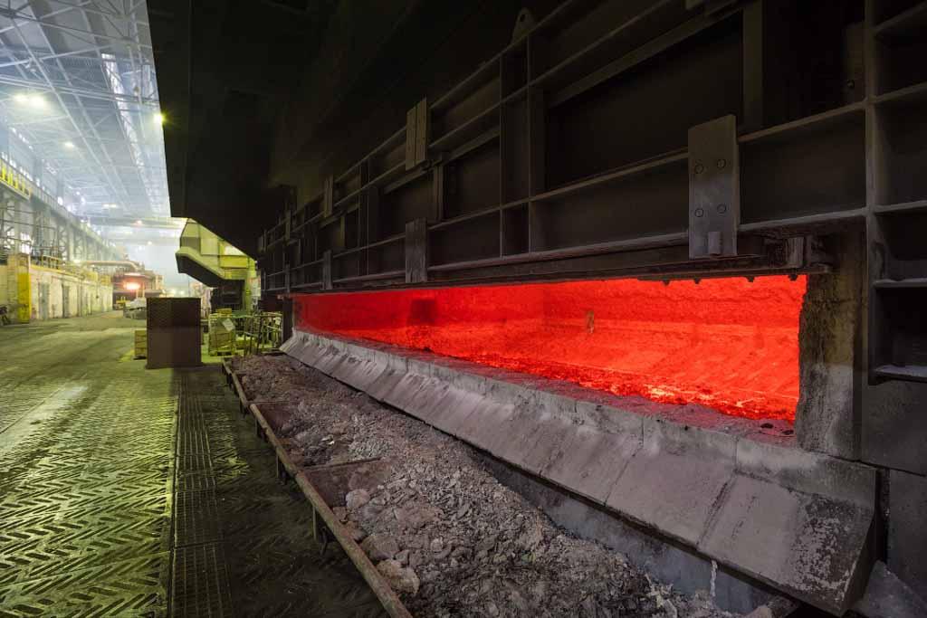 Flux Removes Sodium In Liquid Aluminium
