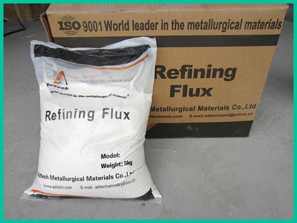 Granulated Refining Flux