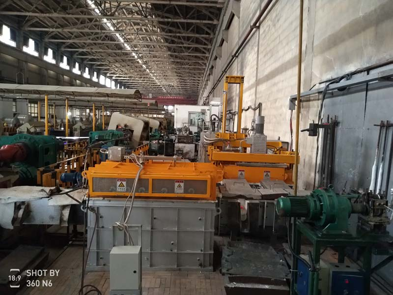Rotary Aluminium Degassing Machine