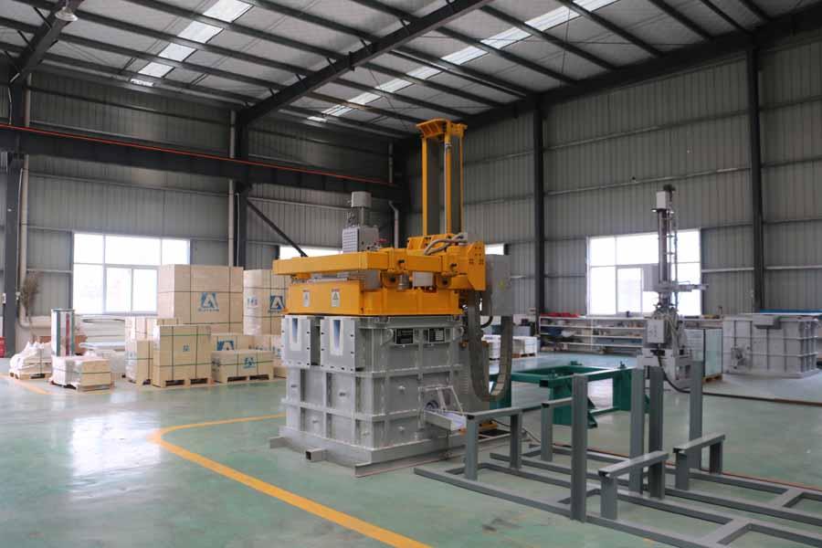 Foundry Aluminium Degassing Process