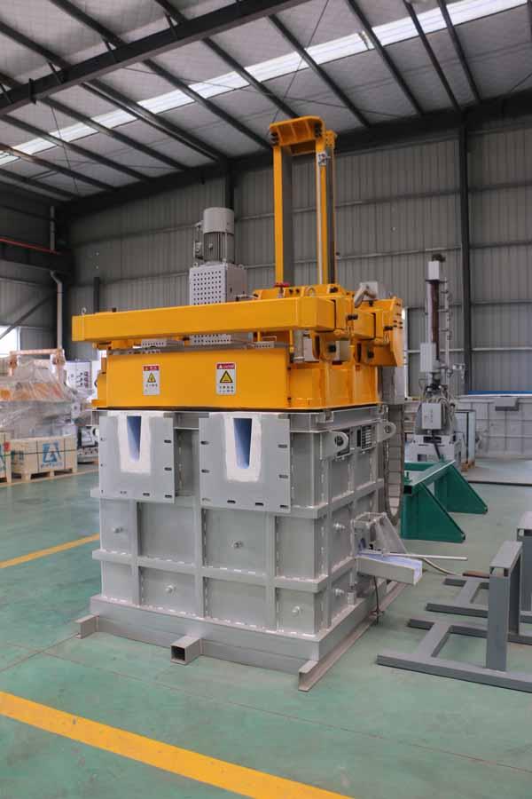 Melt Aluminum Degassing Unit