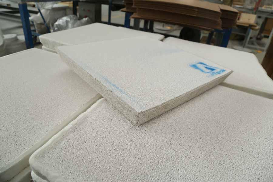 Aluminum Billet Ceramic Filter