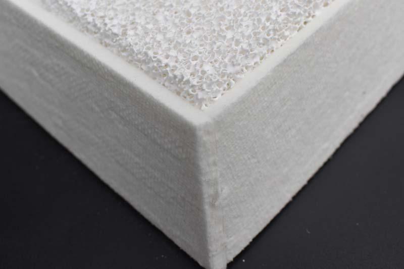 Ceramic Foam Filter Khakas Aluminium